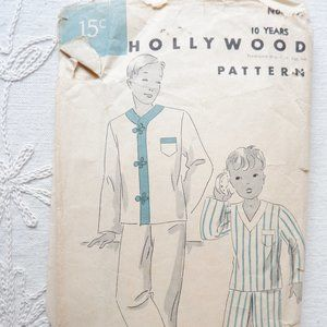 30s Pajamas Pattern